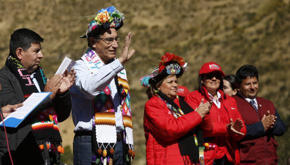 Huancavelica: Martín Vizcarra anuncia que región contará con más de 62 mil tablets (Foto: presidencia)