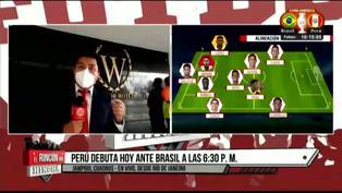 Copa América 2021: Pronostican lluvia al momento del duelo entre Brasil vs Perú