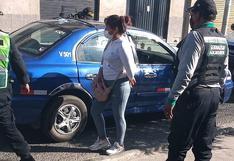 Capturan a presunta integrante de banda de robacasas en Arequipa