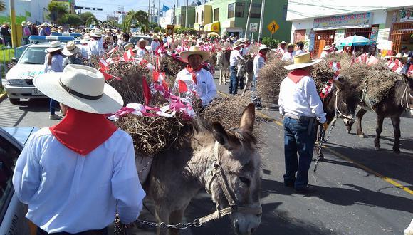 Municipios alistan Entrada de Ccapo horas antes del aniversario de Arequipa