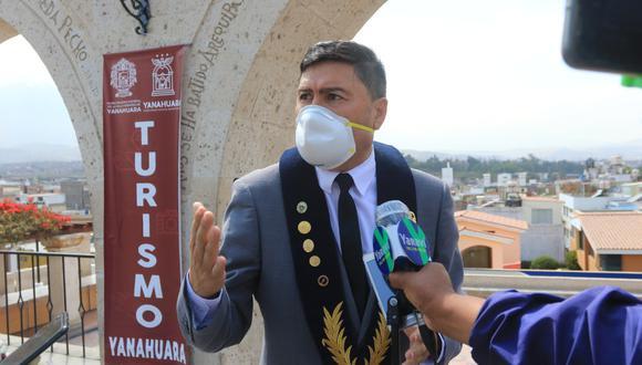 Alcalde Ánghelo Huerta señala que una vacancia del Presidente Martín Vizcarra generaría una mayor inestabilidad (Foto: Eduardo Barreda)
