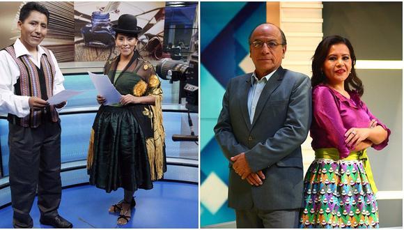 Grupo Epensa y el IRTP transmiten noticieros en quechua y aimara