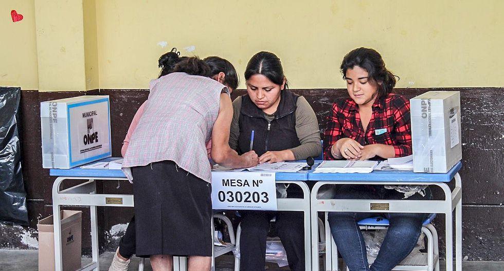 En primera vuelta hubo un 22.12% de electores ausentes
