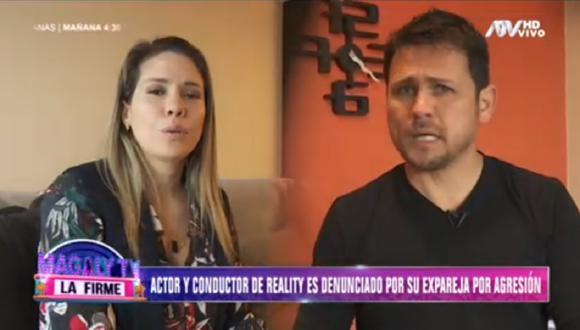 Wendy Chávez, expareja de Eduardo Alonzo, se presentó en programa de Magaly Medina para denunciar al conductor. (Foto: Captura Magaly TV: La Firme)