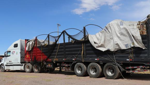 Este es el vehículo que era utilizado para comercializar frutas. (Foto: Difusión)