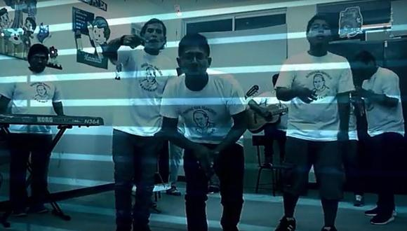Internos del penal de Pocollay componen canción y esperan ganar concurso nacional