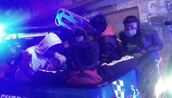 La menor de edad fue conducida hasta la comisaría PNP de Familia en Juliaca. (Foto: Difusión)