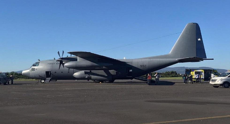 Fuerza Aérea de Chile confirma la identidad de 38 pasajeros de avión desaparecido
