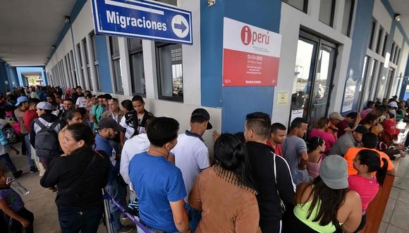 En las últimas 48 horas han ingresado más de 6 000 venezolanos a Perú