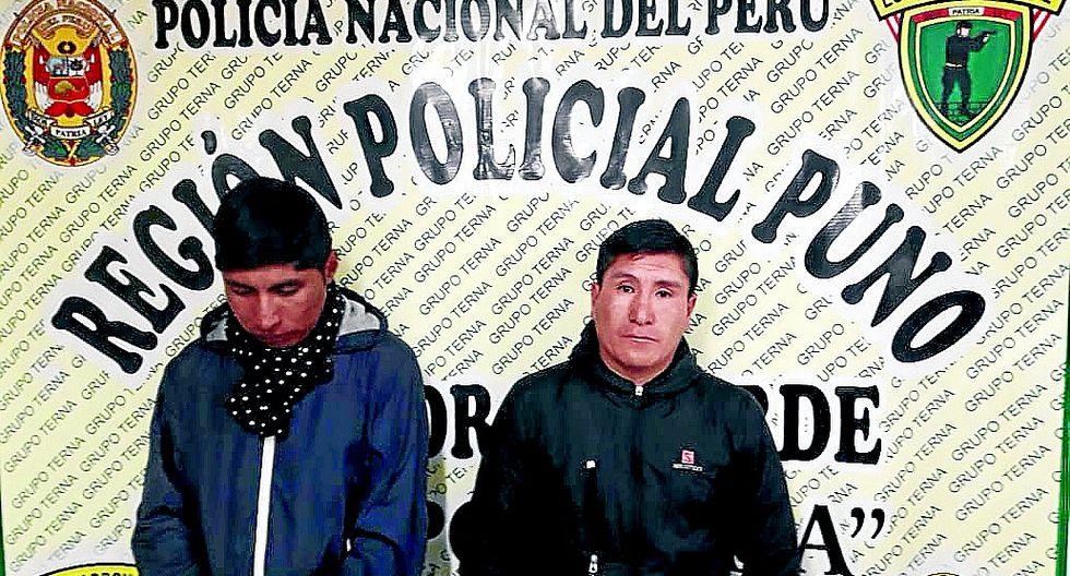 """Dos """"Gasparines de la cachina"""" son detenidos luego de cometer robo"""