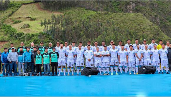 Deportivo Llacuabamba presentó su plantel para la Liga 1 (FOTOS)