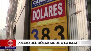 Dólar sigue a la baja: Ciudadanos confían en que precios de alimentos también disminuyan (VIDEO)