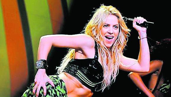 """Shakira tiene las """"curvas más sexys"""" del mundo"""