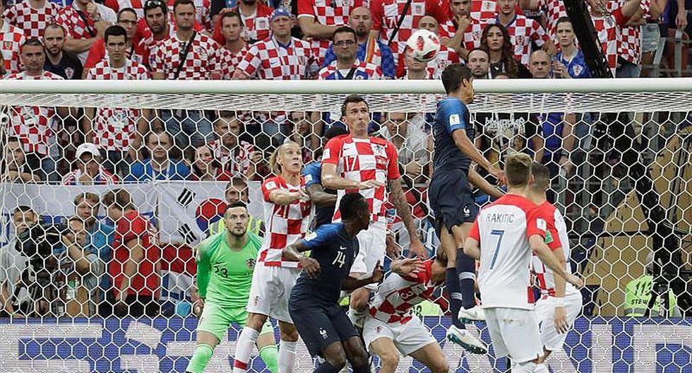Francia vs Croacia: así fue el autogol de Mandzukic que puso el 1-0 (FOTOS)