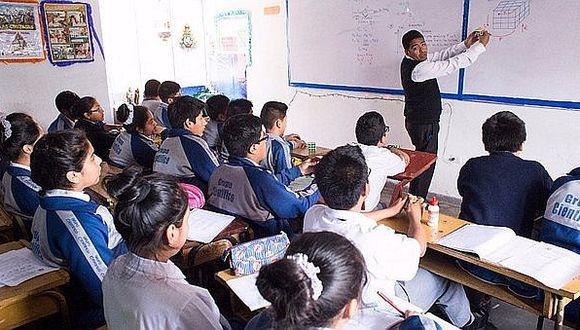 Minedu destinará S/ 94 millones para pagar a profesores que recuperen clases