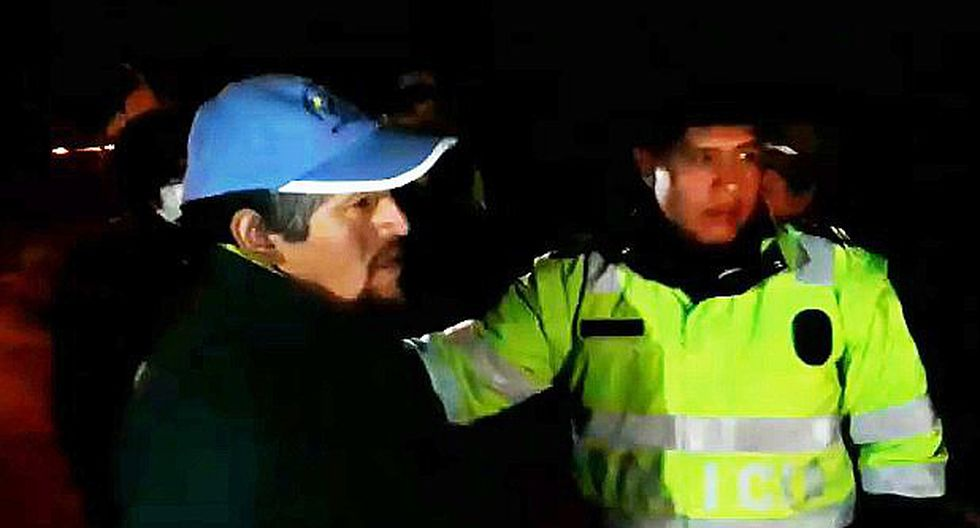 Cotabambas: Intervienen al alcalde en camioneta municipal en presunto estado de ebriedad