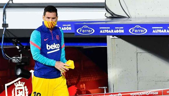 Barcelona defenderá a Lionel Messi frente a sanción. (Foto: AFP)