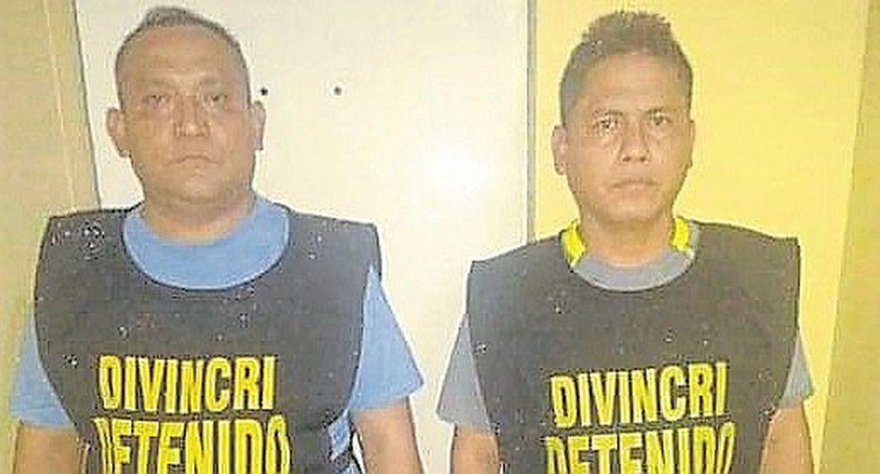 Tres funcionarios del INPE se entregan por caso de droga