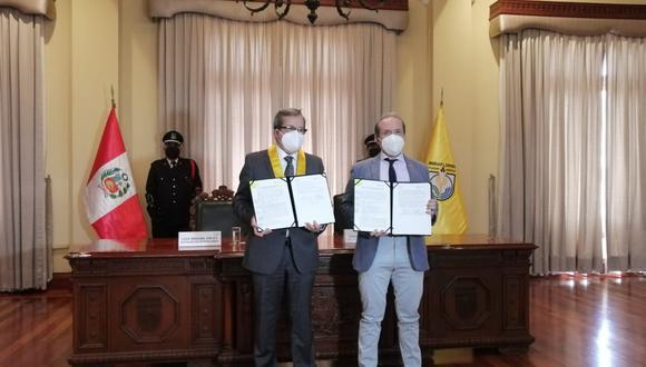 La Municipalidad de Miraflores aprobó el convenio en su sesión de Concejo del último miércoles. (Foto: Municipalidad de Miraflores)