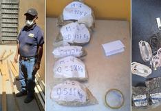 Hallan droga y celulares en listones de madera que enviaron para interno del penal de Pocollay