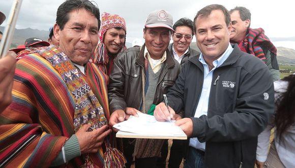 Aeropuerto de Chinchero: MTC y segunda comunidad inician trato para venta de terrenos