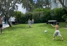 Instagram: Hijo de Lionel Messi deslumbra con sus habilidades con el balón