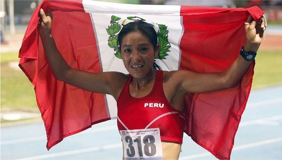 Inés Melchor anuncia que dejará el atletismo por ejercer su profesión