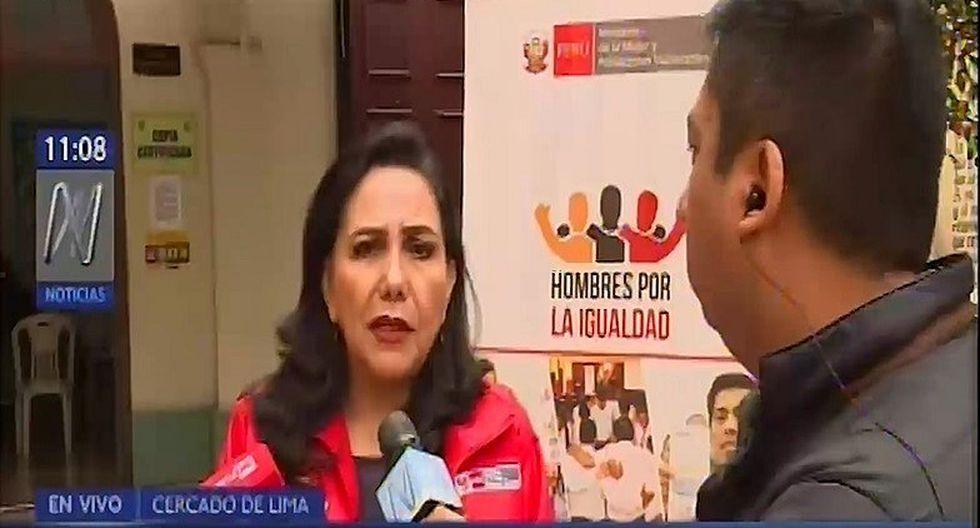 Gloria Montenegro negó que exista crisis política en el país (VIDEO)