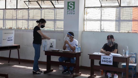 Los electores que no cumplan con ejercer como miembros de mesa pagarán una multa de S/ 220 en la segunda vuelta de las Elecciones 2021. (Foto: Renzo Salazar | GEC)