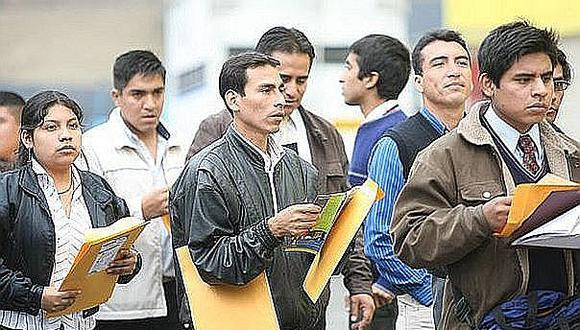 INEI: Población empleada crece 0.2% en Lima con aumento en el trabajo adecuado