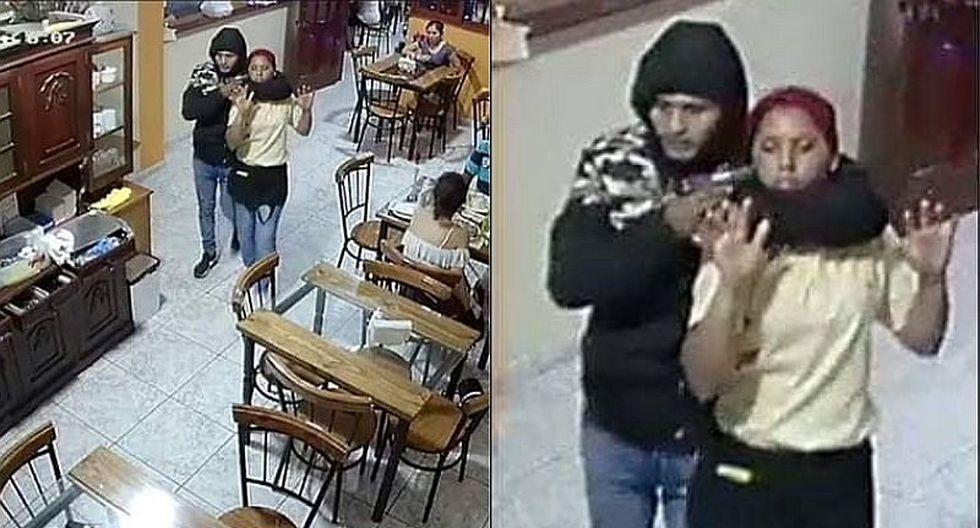Huacho: mesera fue tomada de rehén por delincuentes que asaltaron un restaurante (FOTOS)