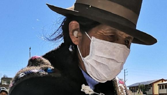 Adultos mayores siguen esperando vacuna contra el COVID-19 en Huancavelica.