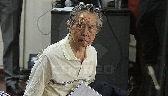 Fiscalía reprograma diligencia contra Alberto Fujimori por presunto secuestro y tortura a exjuez