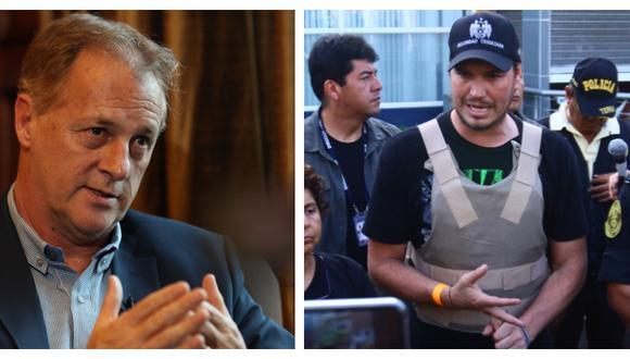 El alcalde de Lima no consideró oportuna la renuncia de Forsyth a la alcaldía de La Victoria (Foto: GEC)