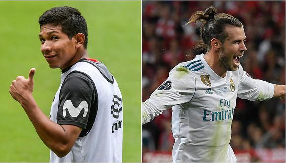 Comparación entre Edison Flores y Gareth Bale se hace viral en redes sociales (FOTO)
