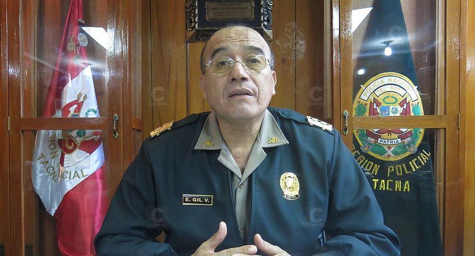 Jefe de la región policial de Tacna fue designado director de Seguridad Ciudadana