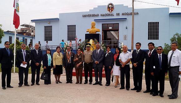 Moqueguanos recordaron 173 años del fallecimiento de Mariscal Domingo