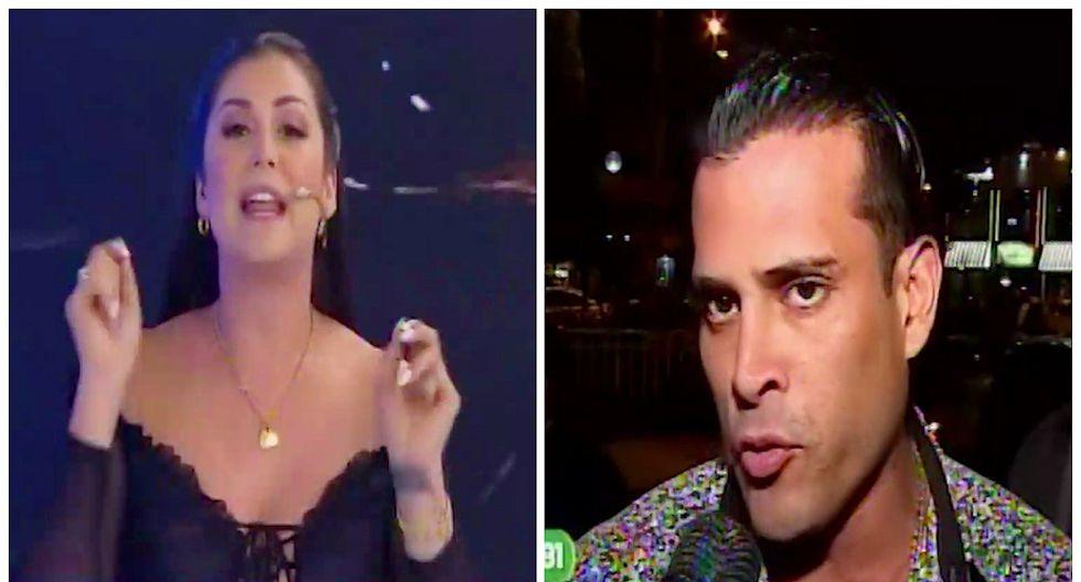 "Karla Tarazona a Christian Domínguez: ""Él se paró aquí a hacer su show con Pamela"" (VIDEO)"