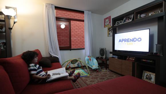 """Latina, ATV, América TV, Panamericana TV y Global transmitirán los programas del plan """"Aprendo en casa"""". (Foto: Hugo Perez)"""