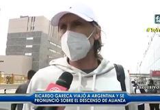 Ricardo Gareca hizo un comentario por la pérdida de la categoría de Alianza Lima (VIDEO)