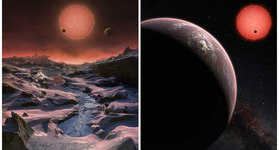 Descubren tres mundos potencialmente habitables similares a la Tierra