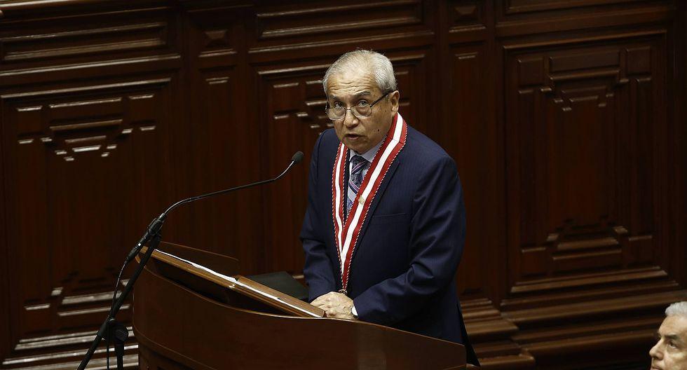 Fiscal de la Nación Pedro Chávarry pidió al Ministerio del Interior reforzar su seguridad