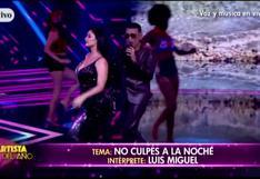 Esta fue la presentación de Pamela Franco y Josimar cantando tema de Luis Miguel en El Artista del Año