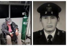 Policía en retiro de 61 años que requería cama UCI por cuadro crítico de COVID-19 es atendido en clínica
