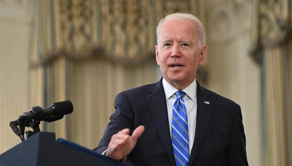 Imagen del presidente de Estados Unidos, Joe Biden. (SAUL LOEB / AFP).