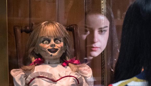 Muñeca de la película de terror Anabelle. (Foto: EFE)
