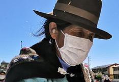 Adultos mayores en Huancavelica a la espera de ser vacunados contra el COVID-19