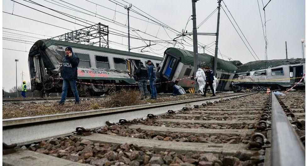 Descarrilamiento de un tren deja tres muertos y decenas de heridos en Milán (VIDEO)