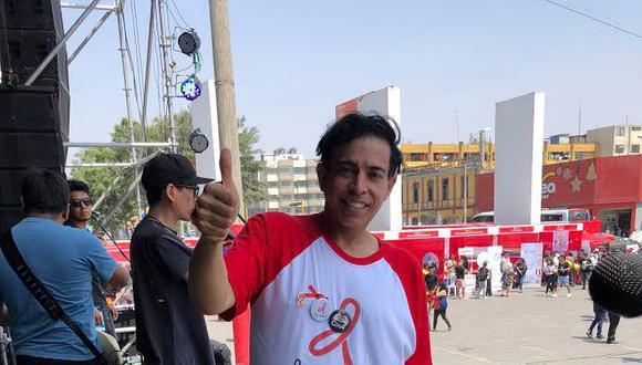 Ernesto Pimentel será parte de campaña por el Día Mundial de la Lucha Contra el Sida.