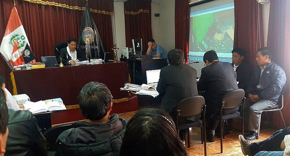 Doce meses de prisión preventiva para alcalde de Challhuahuacho Antolín Chipani
